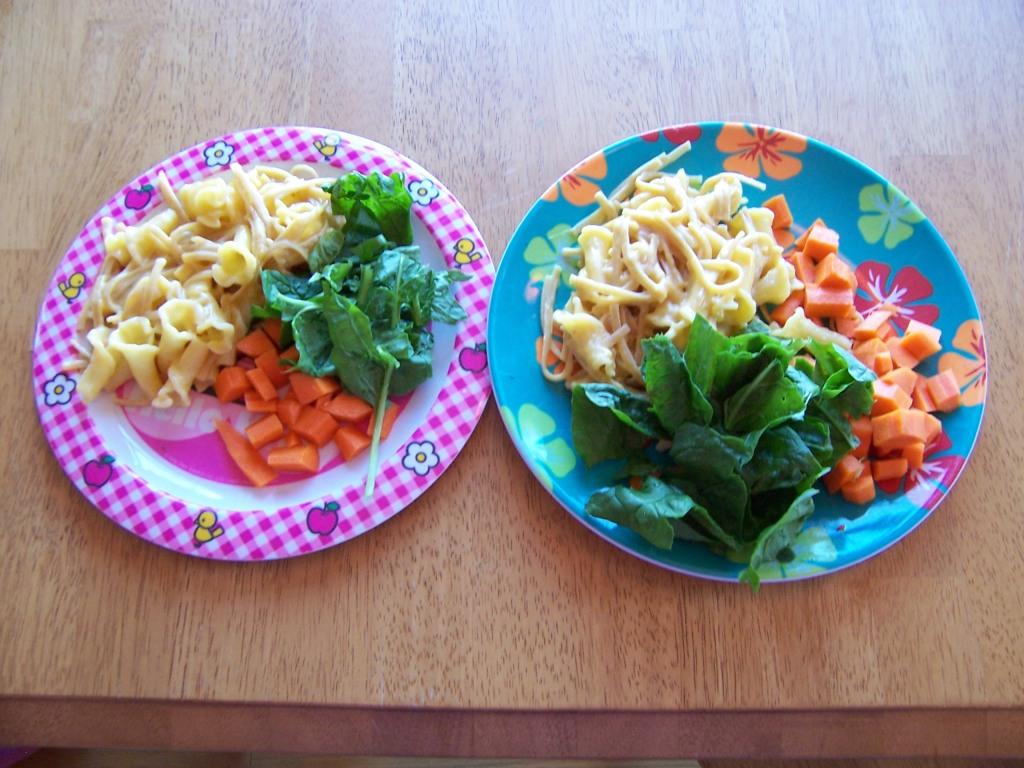 Girl's plates