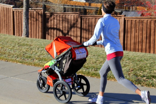 Lessons from Behind a Jogging Stroller : Yes, I want cake.