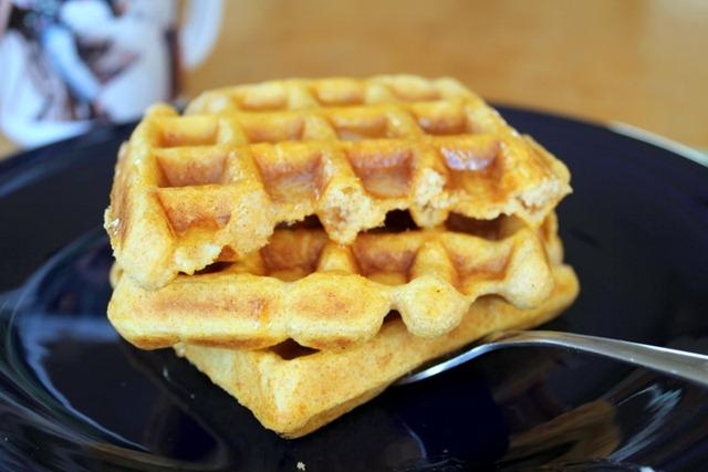 Sweet Potato Waffles : Yes, I want cake.