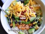Shredded Chicken TacoSalad